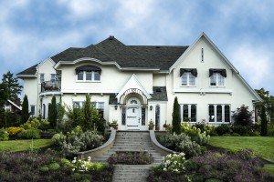 bigstock-Exterior-Of-White-Stucco-Luxur-44080765