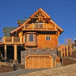 Log Cabin Home Exterior With Warm Fireplace ~ Perfect Vacation G