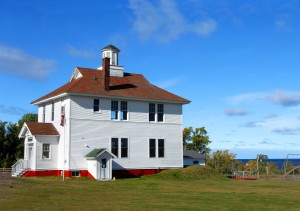 Restored School House in Michigan